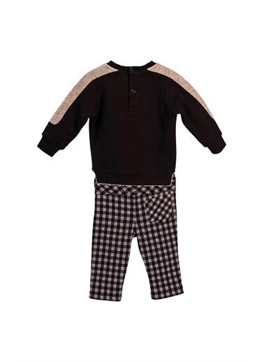 Zeyland Kapitone Parçalı Sweatshirt ve Kaşe Pantolon Takım (6ay-4yaş) Kapitone Parçalı Sweatshirt ve Kaşe Pantolon Takım (6ay-4yaş) Siyah